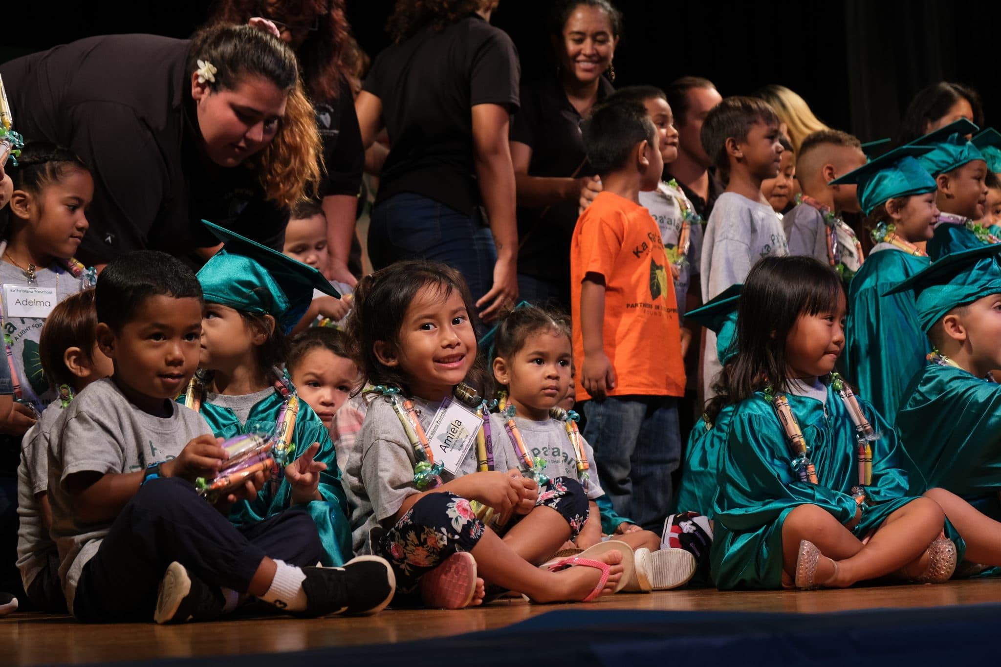 2019 Ka Pa'alana Keiki Graduate From Preschool