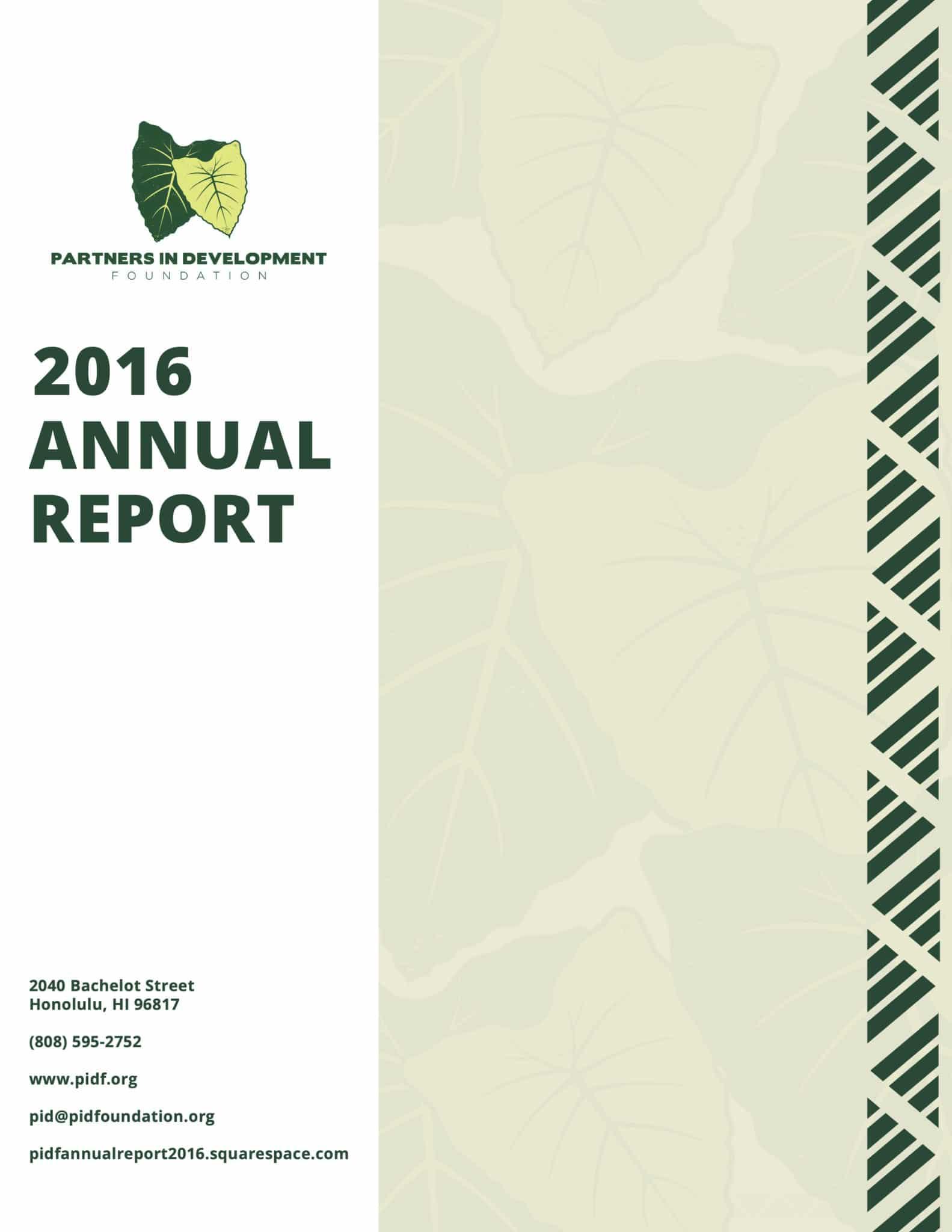 PIDF Annual Report 2016 Spec 7 Ld
